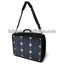 Limited discount quality goods mobile power 35 watts solar bag computer bag notebook charger batteries X-S06