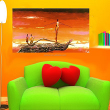 Wholesale Top Quality and Best Price Purely Handmade Sexy Abstract African Women Oil Painting