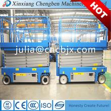 Chengben equipo de elevación automotriz ascensor de tijera venta
