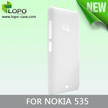 New Printable Blank sublimation phone cover for Nokia lumia 535