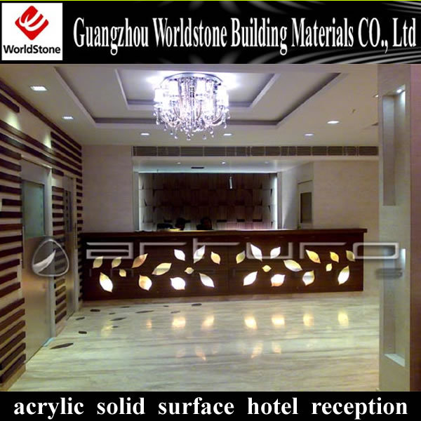 Perfect Design Led Hotel Reception Counter