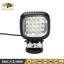 Auto tuning 48w led work light 12v KR5481 Spot beam,flood beam super offroad 5 INCH led work lamp