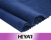 Plain Printed Pattern and Combed Yarn Type Organic Cotton Dyed Stretch Corduroy Fabric