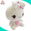 customized cute stuffed soft battery-operated plush toy rabbit