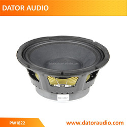 """10"""" High Performance P audio bass speakers,Midbass Woofer"""