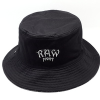 High Quality Custom screen printed Reversible Bucket Hat/Cap Wholesale 100%cotton
