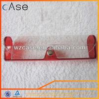WENZHOU CASE Transparent PVC clear plastic glasses cases