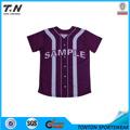 2013 personalizado camiseta de béisbol con la sublimación