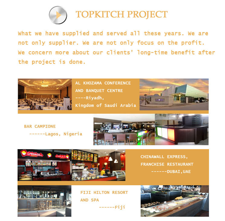 Italian Restaurant High Standard Warranty Provided Commercial Kitchen(Kitchen Project Design)