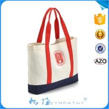 natural 10OZ/ 12OZ / 16OZ cotton canvas tote bag