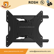 PMS-400L Hot selling pivots and swings left or right for optimal monitor wall mount lcd tv stand