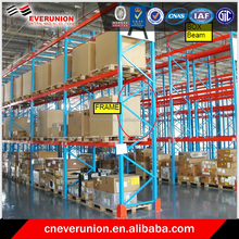 Industrial warehouse storage racking system with Certification