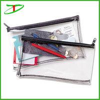 china manufacturer cheap transparent pencil case, clear pencil case