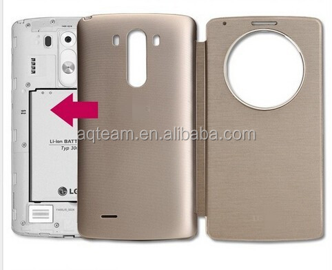 Hot Selling NFC Wireless Charging For LG G3 Case Quick Circle