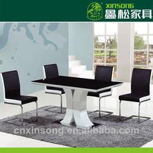 2014 alto brilho venda direta da fábrica quente venda de mesas de jantar