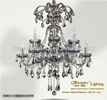 2012 latest prmotion : Royal empire crystal chandelier lamp with K9 crystal drops,Meerosee china chandelier manufacturer