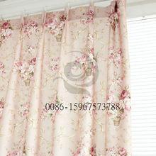 De la fábrica textil españa cortina de la ventana patrón barato tela de la cortina.