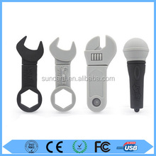 Wholesale custom 2gb to 64gb wrench usb with free sample