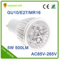 Factory new AR111 5w AC85-265V spot led