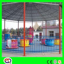 Fibra de vidro xícara de café de diversões parque infantil ao ar livre