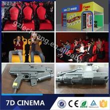 Hydraulic / Electric System Dynamic Gun Shooting Motion 5D 6D 7D Cinema Manufature