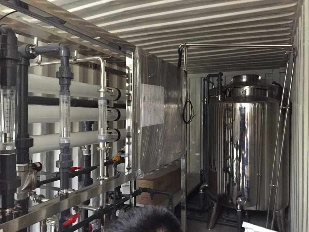 20 Quot 40 Quot Container Water Treatment Demineralization