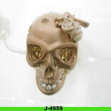 2012 hottest cute new designs fashion alloy skull ring