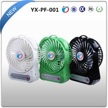 2015 New Product Cooler Desk Fan USB Fan And Light For Outdoor Activities As Camping
