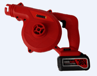 10.8V/12v Li-ion CORDLESS ELECTRIC BLOWER WITH EXTRACTION