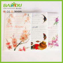 2015 new products many scents for your choice lavender scented paper sachet