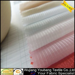 High quality ultra thin soft white ripstop nylon fabric