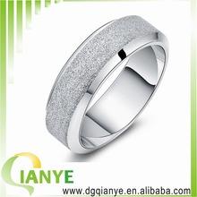 Korean fashion simple matte Rings Mens Rings Mens Jewelry