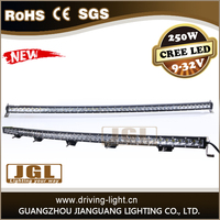 newest 52'' led bar off road light bars cree 250w offroad led light bar