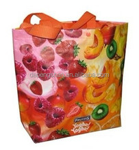 90g D cut non-woven fabric shopping bag
