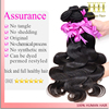 Top Quality 100% real body wave top quality remy virgin indian hair bun