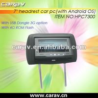 7inch andriod heardrest tablet pc for taxi