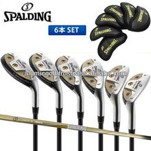 [golf iron set] SPALDING golf HIGH BALL III iron set 6pc(5-PW) APOLLO original carbon shaft
