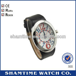 DSC- 7151 Brilliant Top Brand Watch PU Leather Band