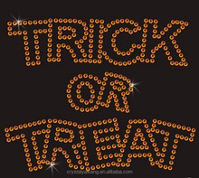 Hot Fix Rhinestone Appliques Halloween Design