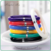 plastic Bracelet pen for promotion, wristband pen
