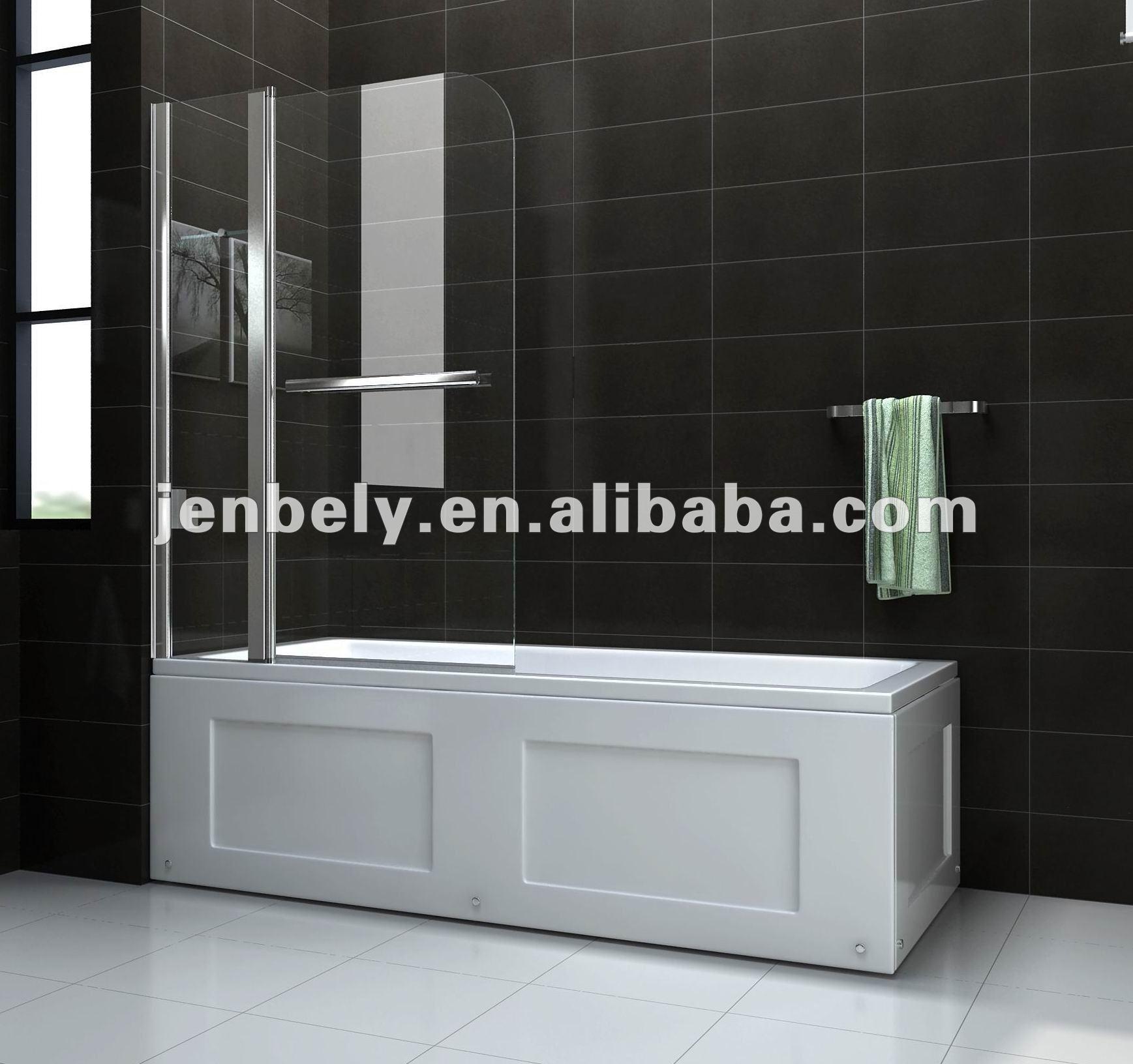 Vetro vasca da bagno vasca da bagno schermo bagno con - Vasca da bagno in vetro ...