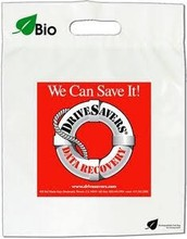 "wholesale cb-319 Short Run Program Die Cut Handle Bag - 2 Color / 1 Side (21""x22""+5"") shopping bag carrier bag die cut"