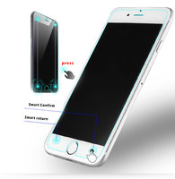 Mobile phone smart touch tempered glass,for iphone 6s smart tempered glass screen protector/