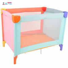 color baby sleeping crib cot bed