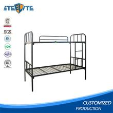 Very Cheap Safety Military Army Metal Bunk Beds Made By Heavy Duty Metals With Guard Bars