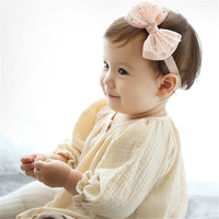New Model High Quality Baby Hair Bow Infant Flower Girls Hair Accessories