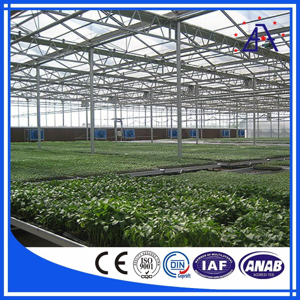 Customized Aluminium Profile One Stop Gardens Greenhouse Parts Buy Customized Aluminium