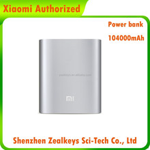 For Mobile phone Rechargeable Xiaomi 10400mAh Portable USB power bank