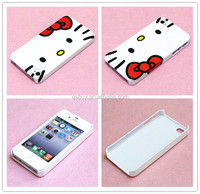 Cheap deal high quality Lovely Hello Kitty design cell phone case cover skin for iphone 4 4g 4s case