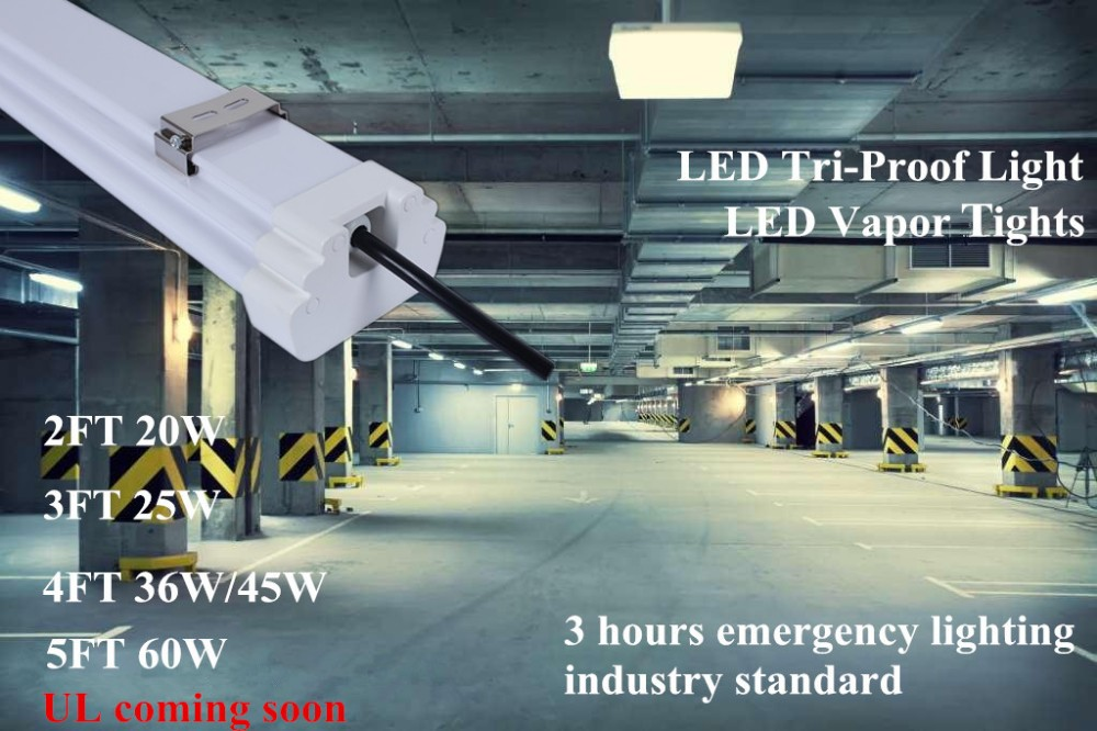 LED vapor lights